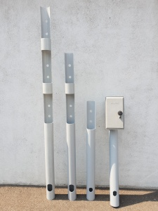 GFK-Pole für Elektro und Telekom Schränke