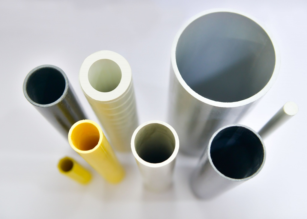 Round Tubes in GRP