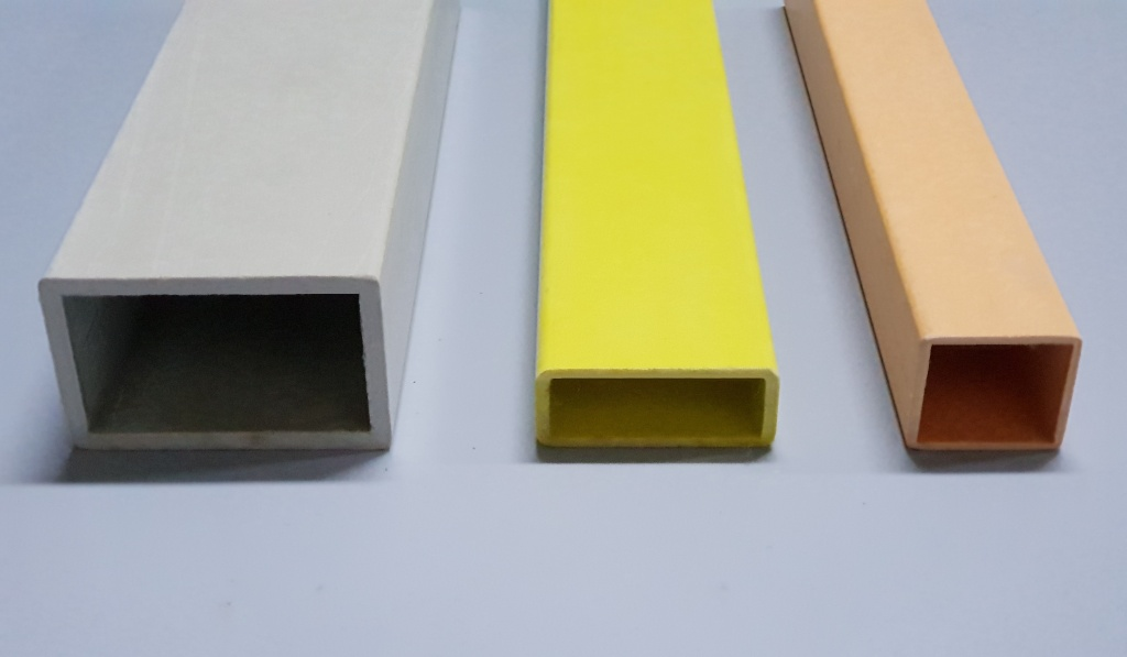 Fibraworld - GRP Rectangular Tubes (GRP Profiles)