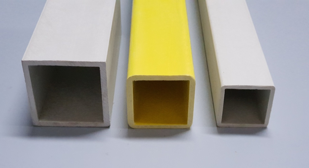 Fibraworld - GRP Square Tubes (GRP Profiles)